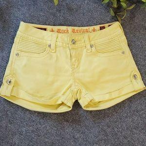 ROCK REVIVAL shorts.      #1242